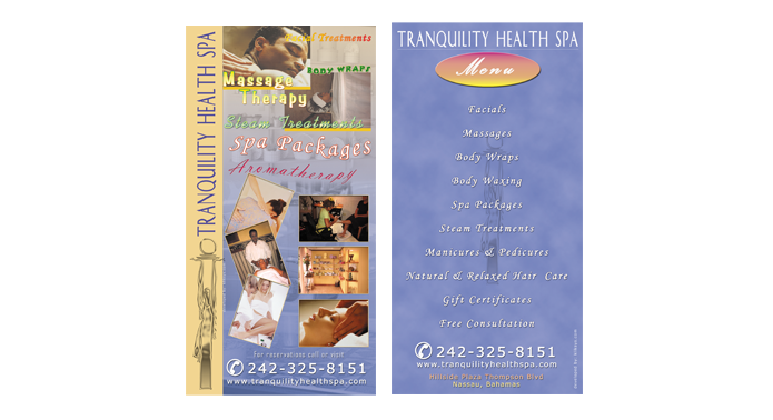 Tranquility Spa Flyer Design
